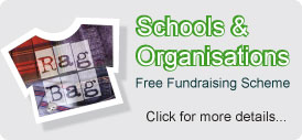 schools organisation textile fundraising recycling scheme