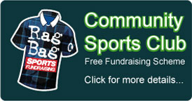 community sports club recycling fundraising scheme